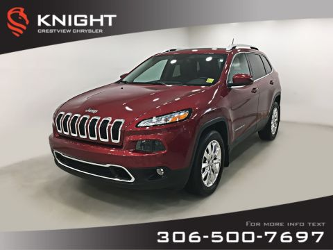 Certified Pre-Owned 2016 Jeep Cherokee Limited 4x4 V6 | Sunroof | Navigation