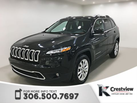 Pre-Owned 2015 Jeep Cherokee Limited 4x4 V6 | Sunroof