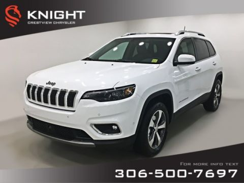 New 2019 Jeep Cherokee Limited 4x4 V6 | Ventilated Seats | Sunroof | Navigation