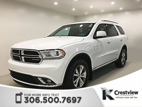 Certified Pre-Owned 2014 Dodge Durango Limited AWD V6 | Sunroof | DVD