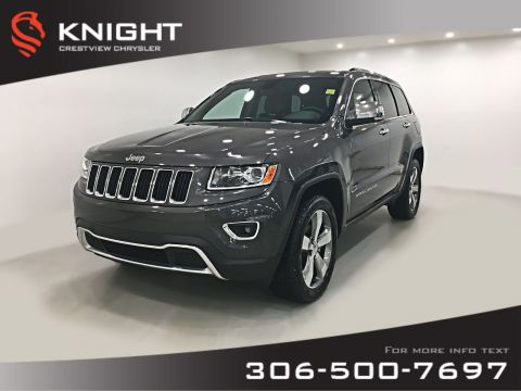 Pre-Owned 2014 Jeep Grand Cherokee Limited V6 | Sunroof | Navigation