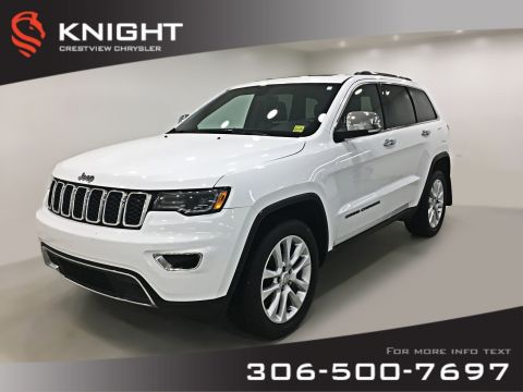 Certified Pre-Owned 2017 Jeep Grand Cherokee Limited | Sunroof | Navigation