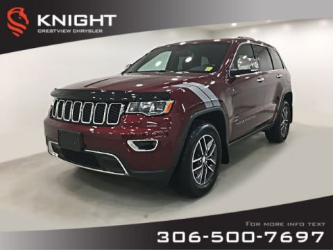 Certified Pre-Owned 2017 Jeep Grand Cherokee Limited V6 | Sunroof | Remote Start