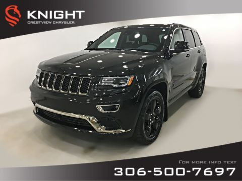 Certified Pre-Owned 2016 Jeep Grand Cherokee Overland V6 | Sunroof | Navigation | DVD