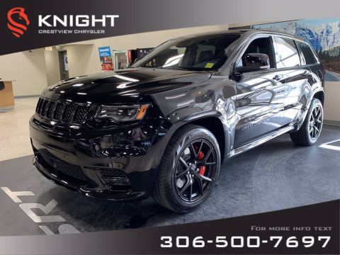 New 2020 Jeep Grand Cherokee SRT 6.4L Hemi | Premium Leather | Sunroof | Navigation