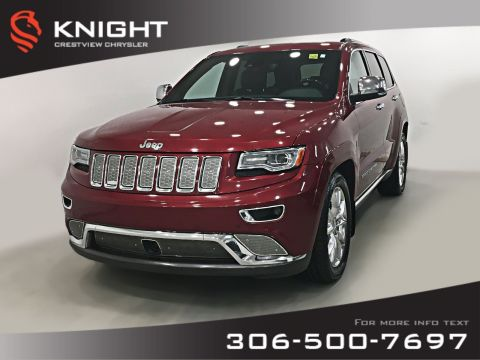 Pre-Owned 2014 Jeep Grand Cherokee Summit EcoDiesel | Sunroof | Navigation