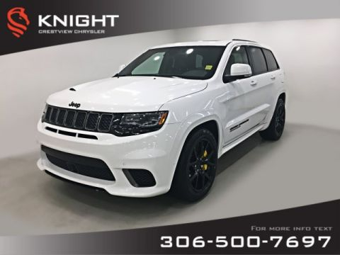 Certified Pre-Owned 2018 Jeep Grand Cherokee Trackhawk 6.2L Hemi | Sunroof | Navigation | DVD