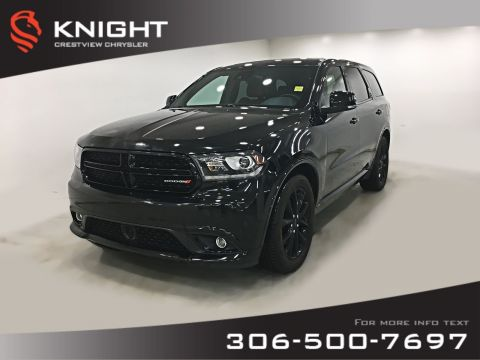 Certified Pre-Owned 2017 Dodge Durango R/T AWD | Sunroof | Remote Start