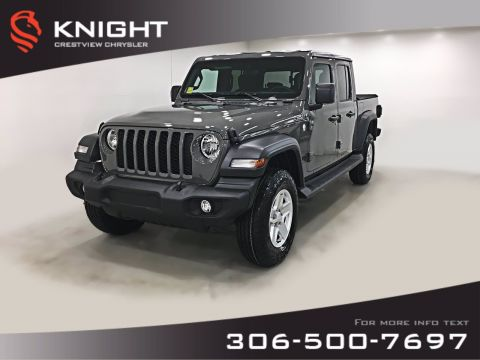 New 2020 Jeep Gladiator Sport S | Heated Seats and Steering Wheel | Remote Start