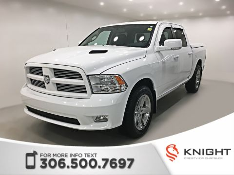 Certified Pre-Owned 2012 Ram 1500 Sport Crew Cab | Leather | Sunroof | Navigation
