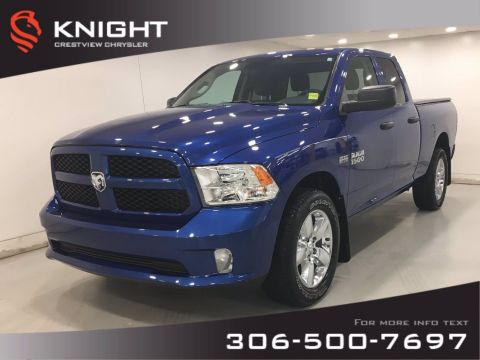 Certified Pre-Owned 2018 Ram 1500 Express Quad Cab | Hemi | Back Up Cam |