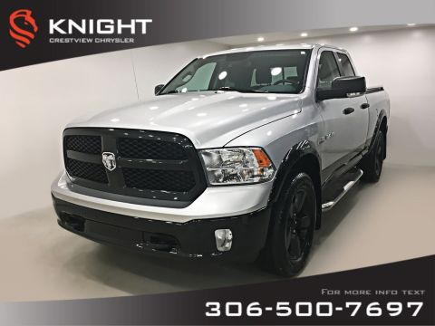 Certified Pre-Owned 2017 Ram 1500 Outdoorsman Quad Cab | Heated Seats and Steering Wheel | Remote Start | *COMING SOON