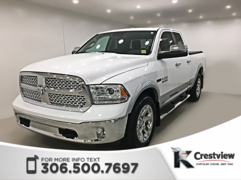 Certified Pre-Owned 2014 Ram 1500 Laramie Quad Cab EcoDiesel | Sunroof | Navigation