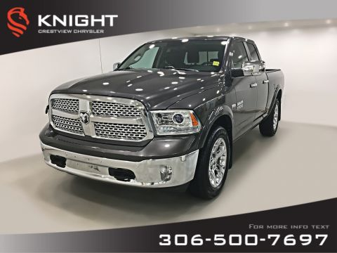 Certified Pre-Owned 2016 Ram 1500 Laramie Quad Cab | Ventilated Seats | Navigation | Remote Start