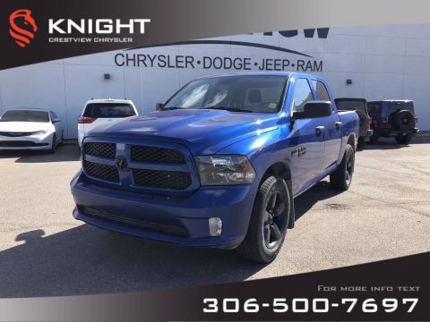 Certified Pre-Owned 2018 Ram 1500 Express Crew Cab | Blackout Package |