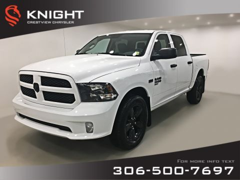 New 2019 Ram 1500 Classic Express Blackout Crew Cab | Back-up Camera