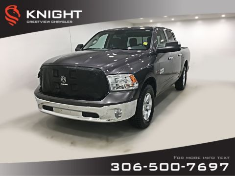 Pre-Owned 2016 Ram 1500 SLT EcoDiesel Crew Cab | Remote Start | Back-up Camera