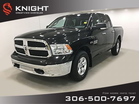 Certified Pre-Owned 2017 Ram 1500 SLT Crew Cab | Heated Seats and Steering Wheel