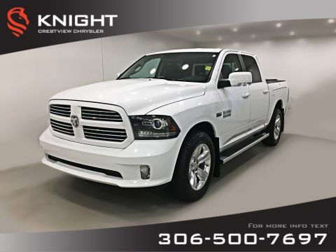Certified Pre-Owned 2014 Ram 1500 Sport Crew Cab | Leather | Sunroof | Navigation | RamBox