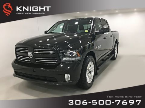Certified Pre-Owned 2016 Ram 1500 Sport Crew Cab | Leather