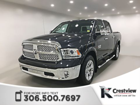 Certified Pre-Owned 2016 Ram 1500 Laramie Crew Cab EcoDiesel | Sunroof | Navigation | Remote Start
