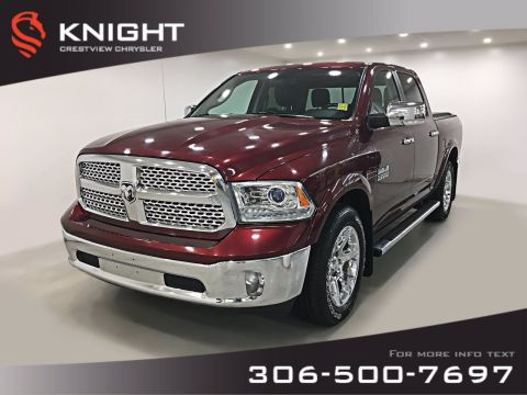 Pre-Owned 2016 Ram 1500 Laramie Crew Cab EcoDiesel | Sunroof | Navigation