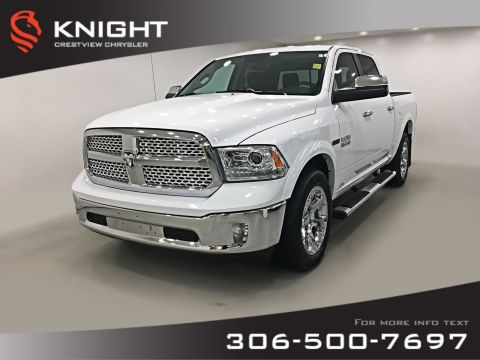 Pre-Owned 2017 Ram 1500 Laramie Crew Cab EcoDiesel | Sunroof | Navigation | Remote Start