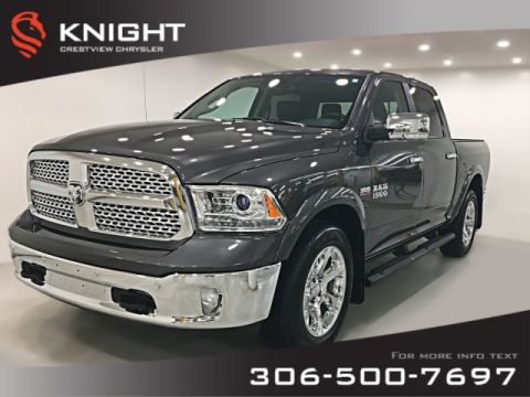 Certified Pre-Owned 2018 Ram 1500 Laramie Crew Cab | Sunroof | Navigation | Remote Start
