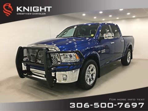 Certified Pre-Owned 2018 Ram 1500 Laramie Crew Cab | Sunroof | Navigation