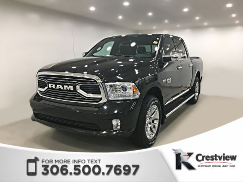 Certified Pre-Owned 2016 Ram 1500 Limited Crew Cab | Sunroof | Navigation | Remote Start