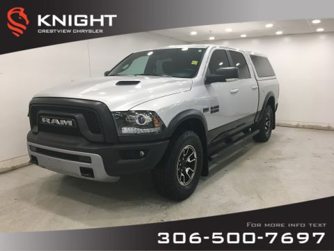 Certified Pre-Owned 2017 Ram 1500 Rebel Crew Cab | Heated Seats and Steering Wheel | Sunroof | Navigation