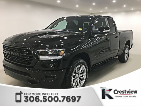 Certified Pre-Owned 2019 Ram 1500 Sport Quad Cab | Heated Seats and Steering Wheel