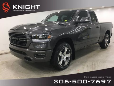 New 2020 Ram 1500 Sport Quad Cab | Heated Seats and Steering Wheel | Remote Start
