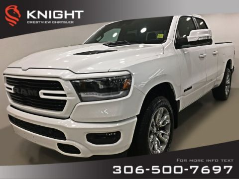 New 2019 Ram 1500 Sport Quad Cab | Leather | Sunroof | Navigation