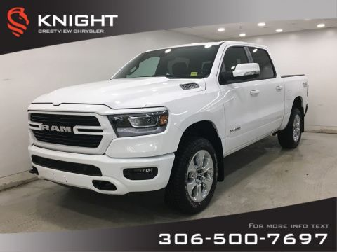 New 2020 Ram 1500 Big Horn Sport Crew Cab | Heated Seats and Steering Wheel | Navigation