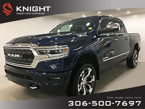 New 2019 Ram 1500 Limited Crew Cab | Sunroof | Navigation 4WD Crew Cab Pickup