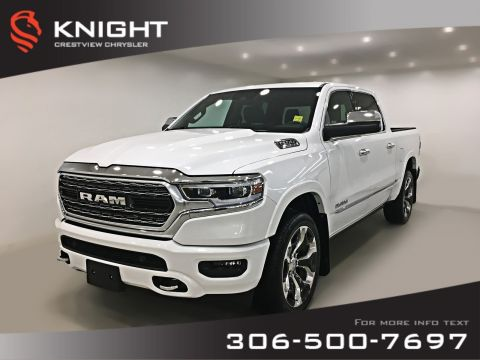 Certified Pre-Owned 2019 Ram 1500 Limited Crew Cab | Sunroof | Navigation | 12 Touchscreen