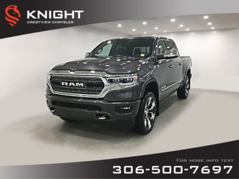 New 2019 Ram 1500 Limited Crew Cab | Sunroof | Navigation | 12 Touchscreen