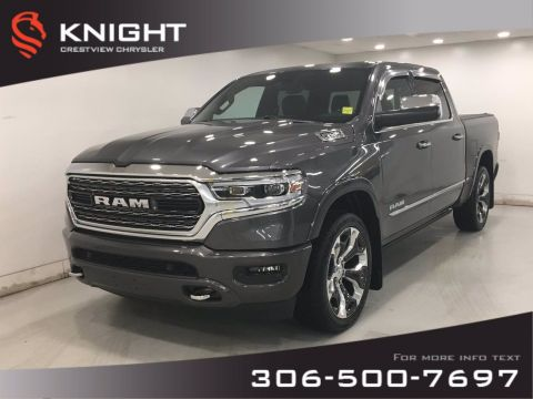 Certified Pre-Owned 2019 Ram 1500 Limited Crew Cab | 12 Touchscreen | Sunroof