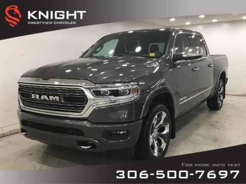 New 2020 Ram 1500 Limited Crew Cab | Multi-Function Tailgate | Sunroof | Navigation | 12 Touchscreen