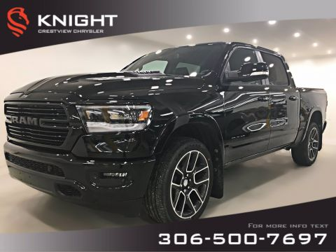 New 2019 Ram 1500 Laramie Crew Cab | Sunroof | Navigation