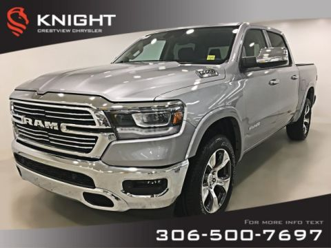 New 2019 Ram 1500 Laramie Crew Cab | Panoramic Sunroof | 12 Touchscreen | Navigation