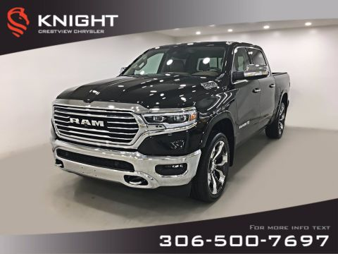 New 2019 Ram 1500 Laramie Longhorn Crew Cab | Sunroof | Navigation | 12 Touchscreen