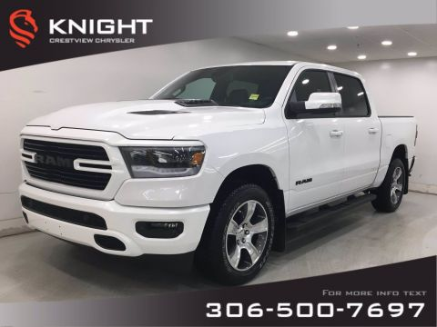 New 2020 Ram 1500 Sport Crew Cab | Leather | Sunroof | Navigation |
