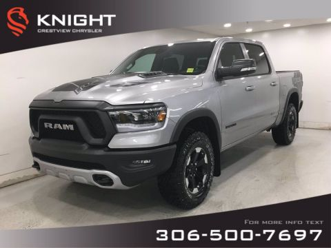 New 2020 Ram 1500 Rebel Crew Cab