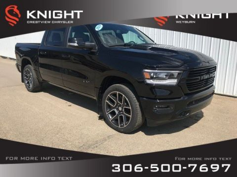 New 2019 Ram 1500 Sport Crew Cab | Leather | Navigation | Remote Start