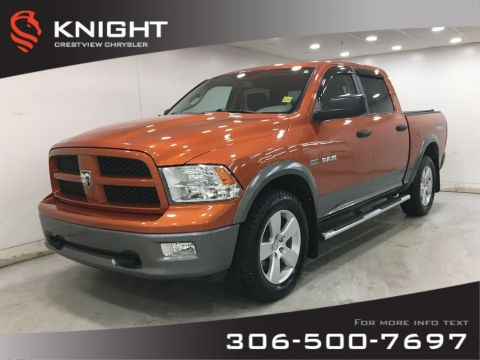 Certified Pre-Owned 2010 Dodge Ram 1500 TRX Crew Cab | Low Km's!