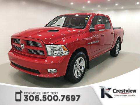 Pre-Owned 2011 Ram 1500 Sport Crew Cab | Leather | Remote Start