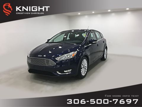 Certified Pre-Owned 2017 Ford Focus Titanium | Leather | Sunroof | Navigation