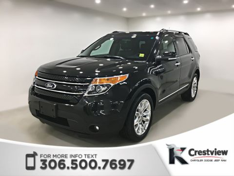 Pre-Owned 2014 Ford Explorer Limited | Leather | Sunroof | Navigation